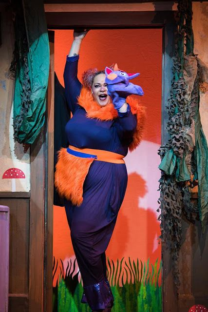 Katrina McGraw as the Sour Kangaroo in <strong><em>Seussical the Musical</em></strong>