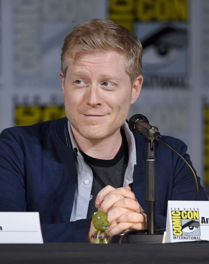 Actor Anthony Rapp at the San Diego Comic-Con on Saturday.