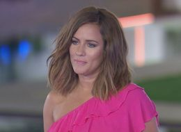 'Love Island' Host Caroline Flack Claims Show 'Portrays Unrealistic Body Image'