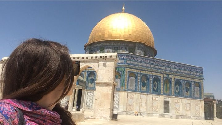 <p>The dome of the rock, an iconic sight in old city Jerusalem and the location of the latest violent clashes.</p>