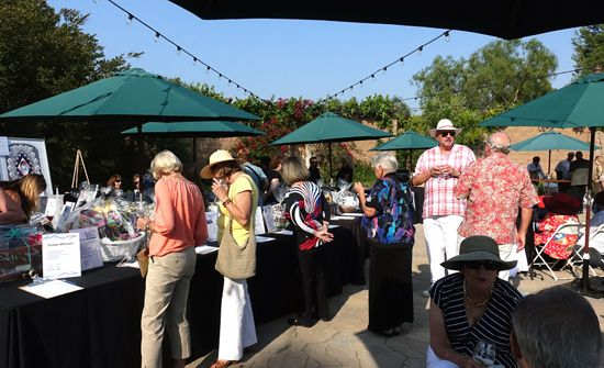 Art auction at PVAC's Chefs & Cellars event