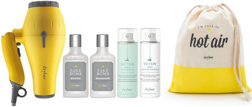 "<strong>Hair We Go Baby Buttercup Kit</strong> from <a rel=""nofollow"" href=""https://www.thedrybar.com/kits-bundles-and-access"