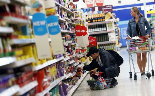 Consumer spending has been hit by higher inflation, an influential survey found on