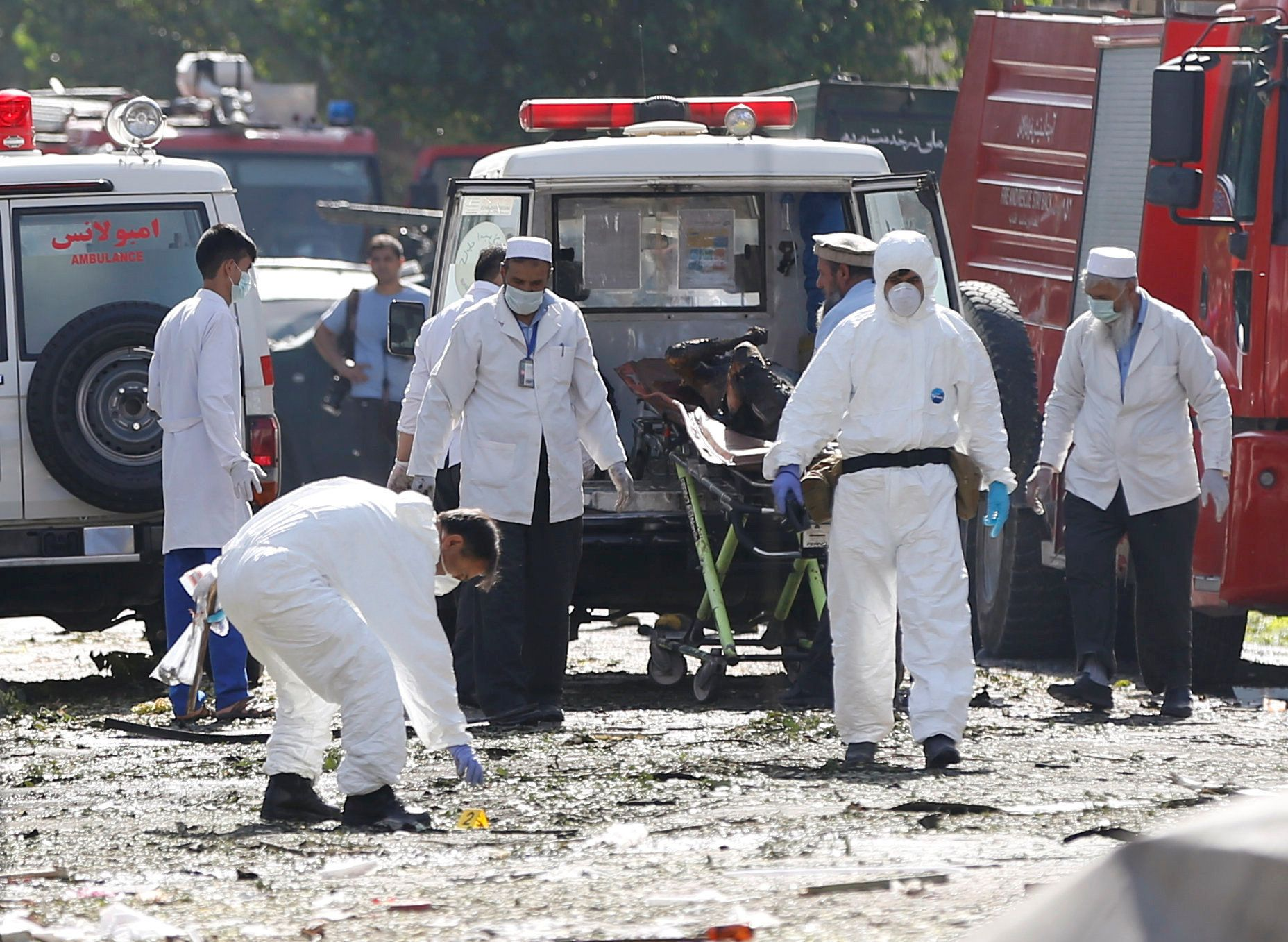 At least 26 Afghan soldiers killed in Taliban attack on Kandahar base