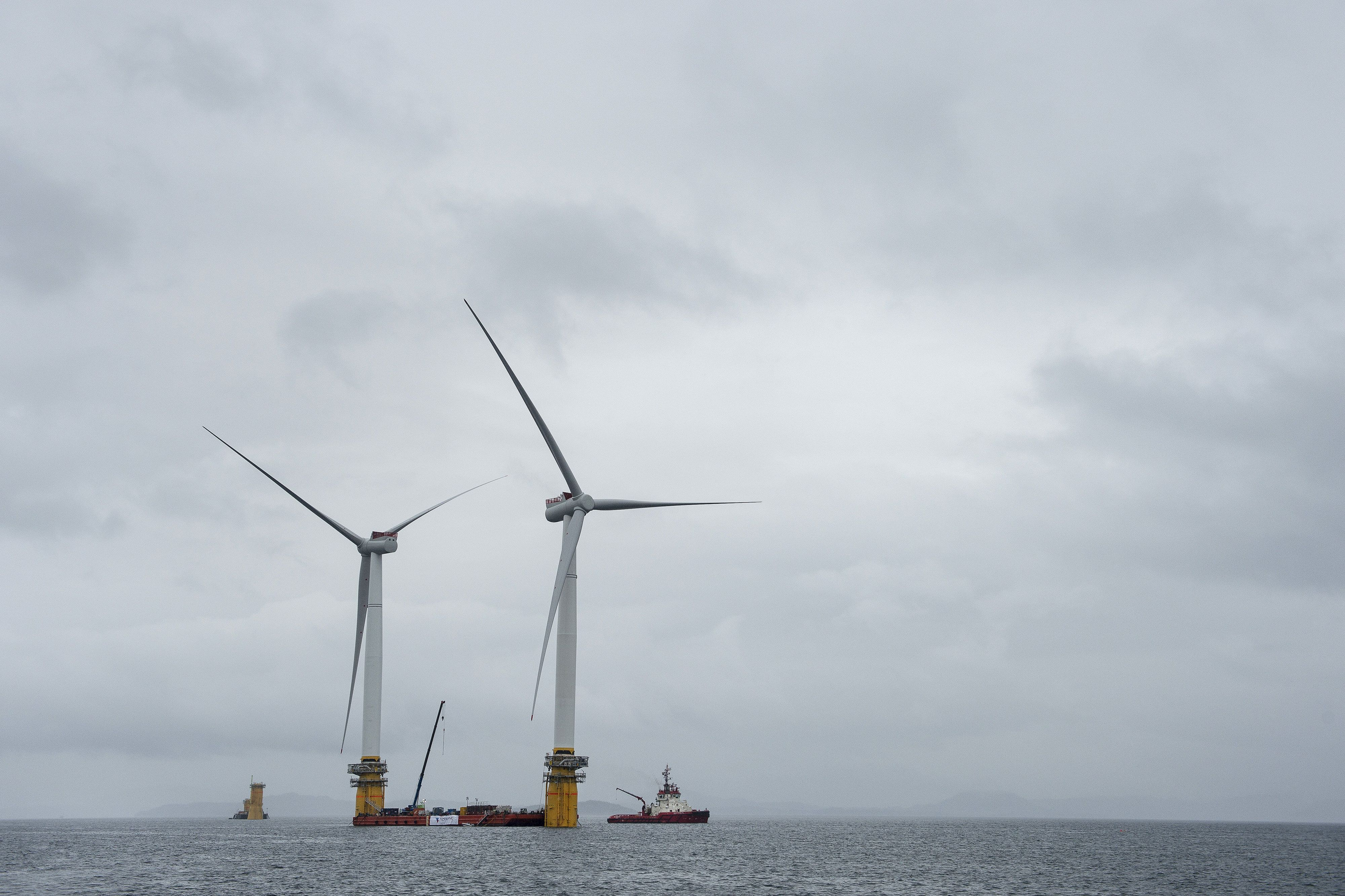 The World's First Floating Wind Farm Will Power 20,000 Scottish