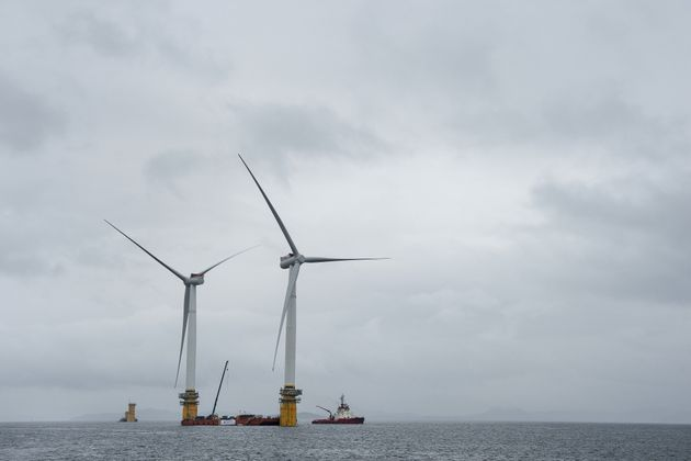 The World's First Floating Wind Farm Will Power 20,000