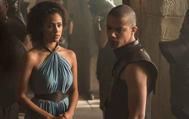 Missandei and Grey Worm in Season