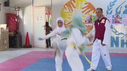 This 12-Year-Old Syrian Refugee Girl Plans To Be Taekwando World