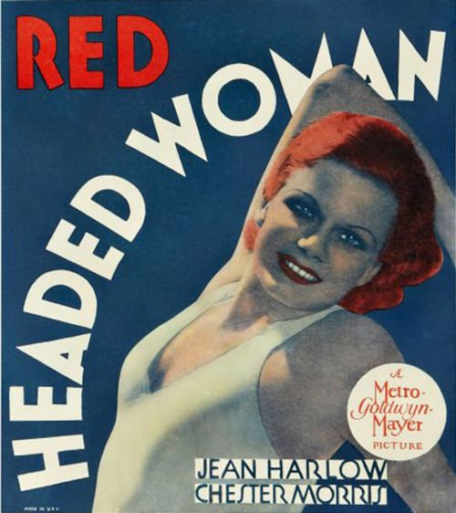 Jean Harlow in <em>Red Headed Woman </em>