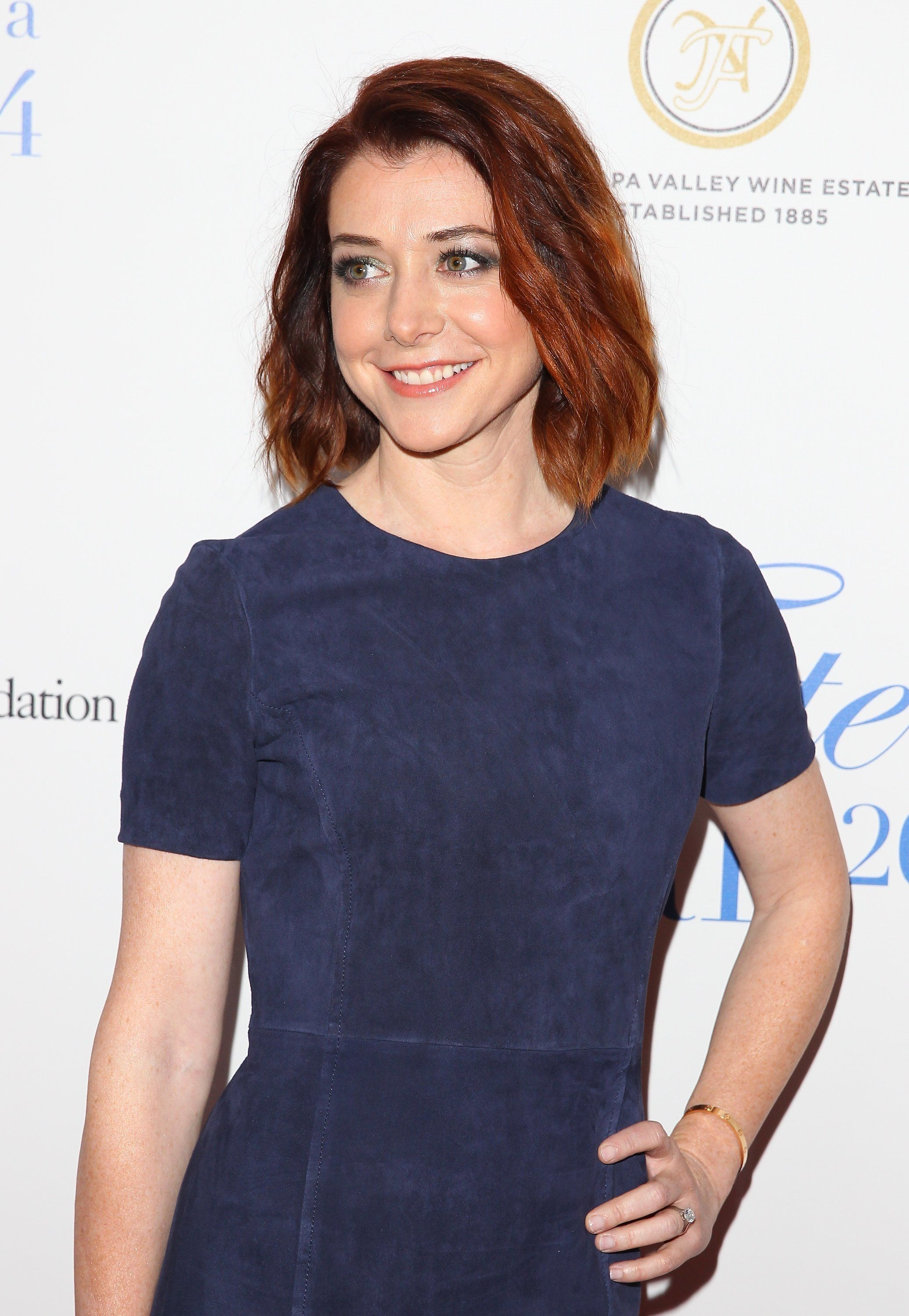 Alyson Hannigan has two daughters with her husband Alexis Denisof.