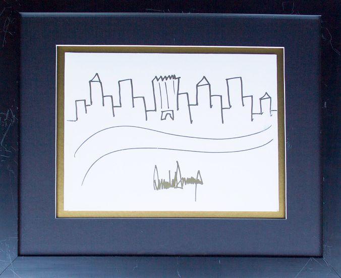 Výsledek obrázku pro donald trump sketch new york