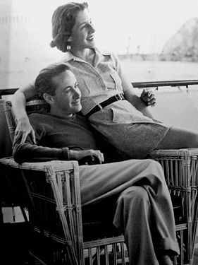 <em>Irving Thalberg and Norma Shearer, summer 1936</em>
