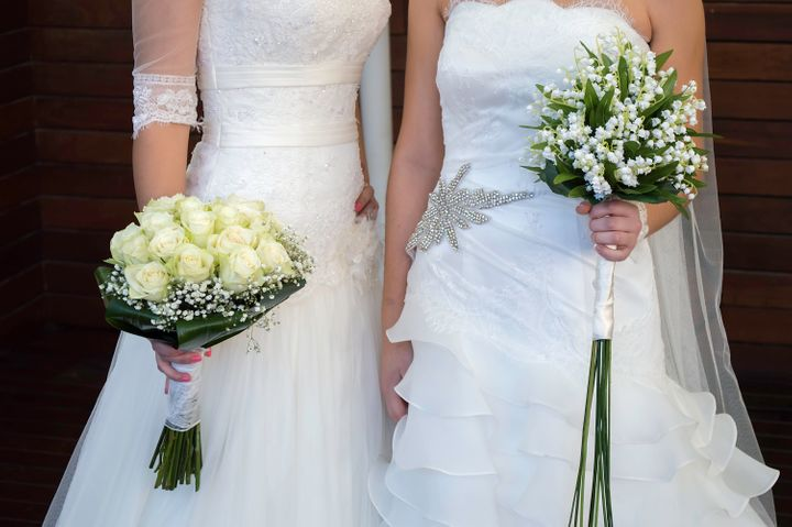 "Brides-to-be Shannon Kennedy and Julie Ann Samanas said they were ""in shock"" after being turned away by a W.W. Bridal Boutique employee."