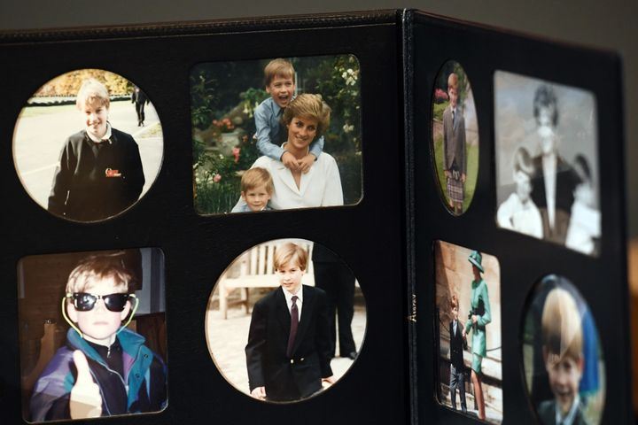 The images are on display as part of theSummer Opening of the State Rooms at Buckingham Palace.
