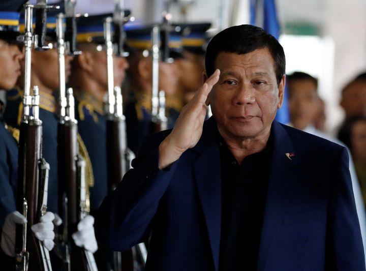 China's ace in the hole has beenRodrigo Duterte.