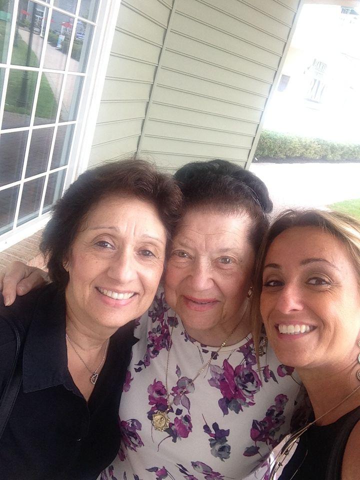 Mom, Grandma & Lisa  May 2015