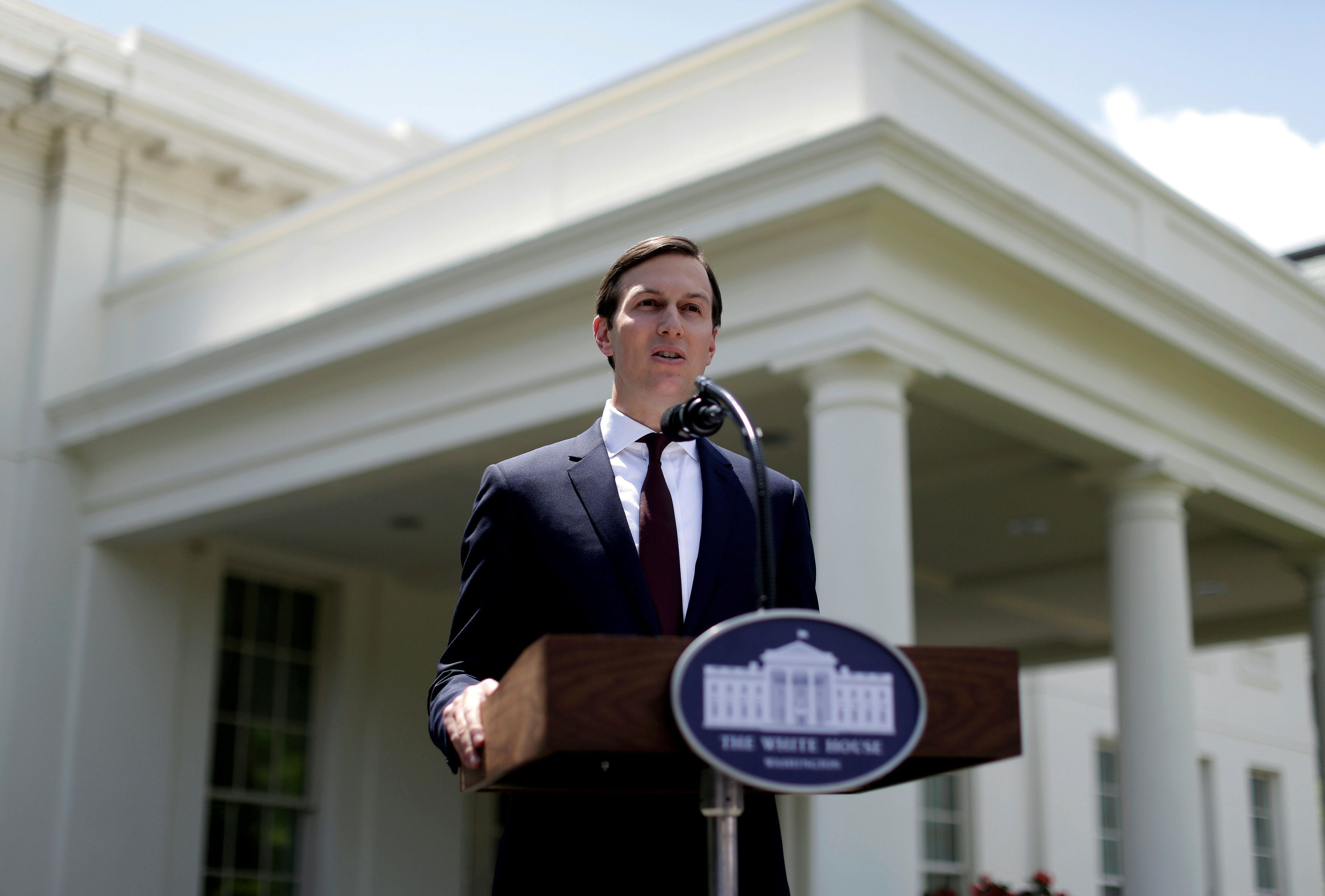 Kushner Maintains He 'Did Not Collude With Russia' In Rare Public