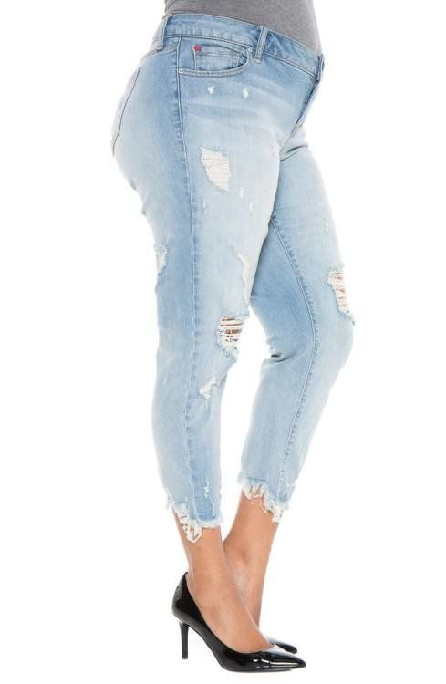 Nordstrom carries a wide variety of designer denimin plus sizes -- up to 28W!Bonus: The Nordstrom Anniversary Sal