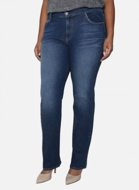 """James Jeans crafts premium denim that's known worldwide for its fit and design -- and carries up to a size 28W. <a href=""""http"""