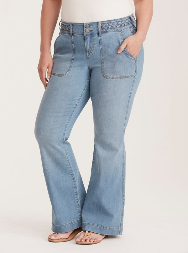 Torridcreates plus-size clothing for women sizes 10 to 30 and carries a diverse collection, from lingerie and swimwear