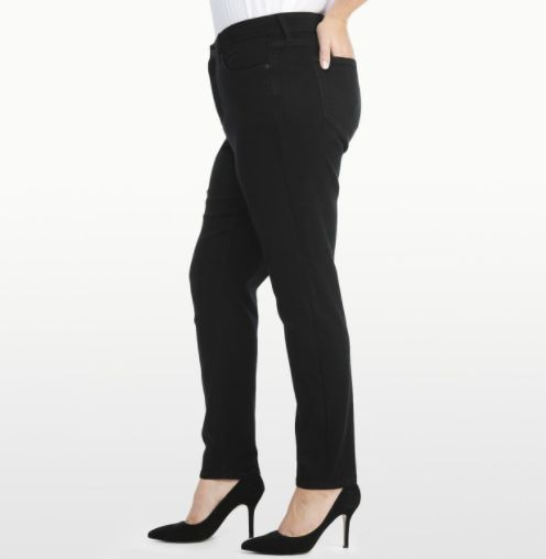 NYDJ specializes in slimming jeans that are designed to make women look and feel one size smaller. Whether you're into that m