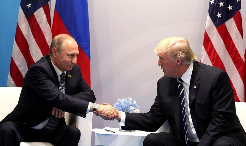 Trump-Putin meeting at G-20 in Hamburg