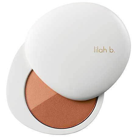 You already know how we feel about multi-purpose products and lilah b. doesn't let us down. This multipurpose bronzer duo hig