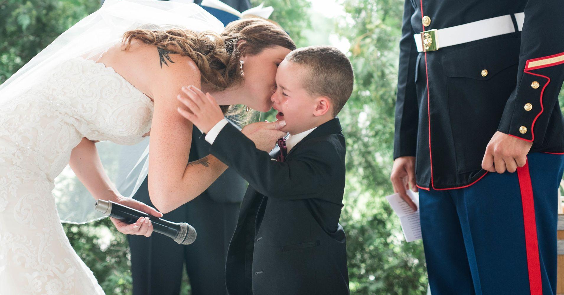 vows to stepchildren samples