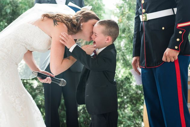 This Bride Wrote The Most Beautiful Wedding Vows To 4-Year-Old Stepson