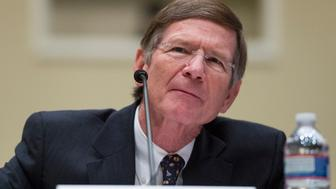 UNITED STATES - MARCH 6: Chairman of the Science, Space, and Technology Committee Lamar Smith, R-Texas, makes his case for funding of his committee during the House Administration Committee hearing on 'Committee Funding for the 113th Congress' on Wednesday, March 6, 2013. (Photo By Bill Clark/CQ Roll Call)
