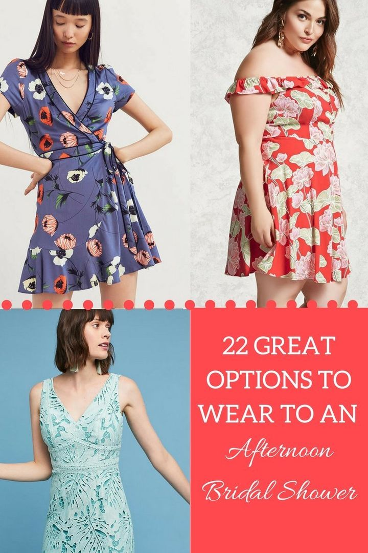 e9c6f7442ba5 What To Wear To An Afternoon Bridal Shower