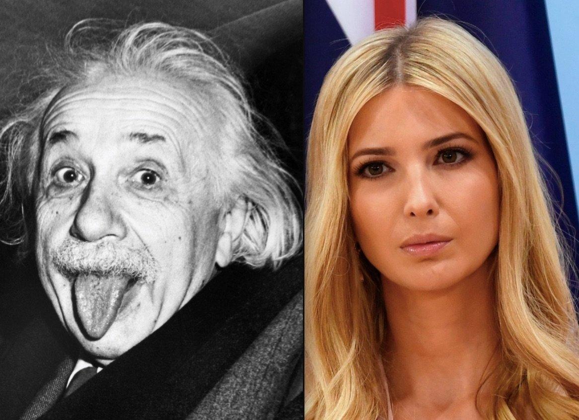 Ivanka Trump essaie de citer Albert Einstein et tout ça termine de manière