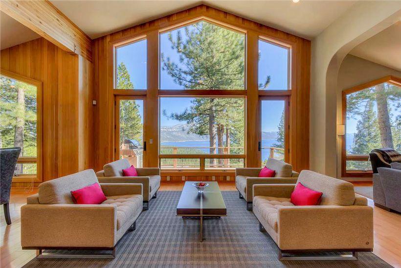 Main Room at Azure - Tahoe Luxury Properties