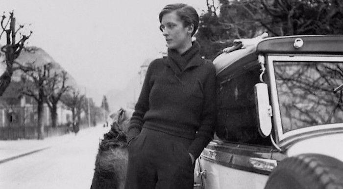 lesbian icon, Annemarie Schwarzenbach, in the 1930's