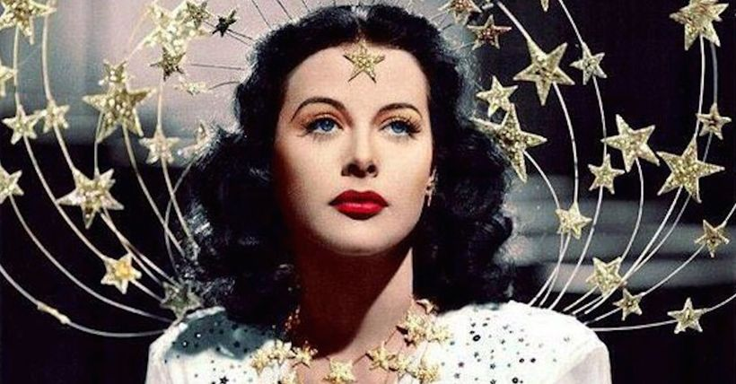 Hedy Lamarr in a scene from 1941's <em><strong>Ziegfeld Girl</strong></em>