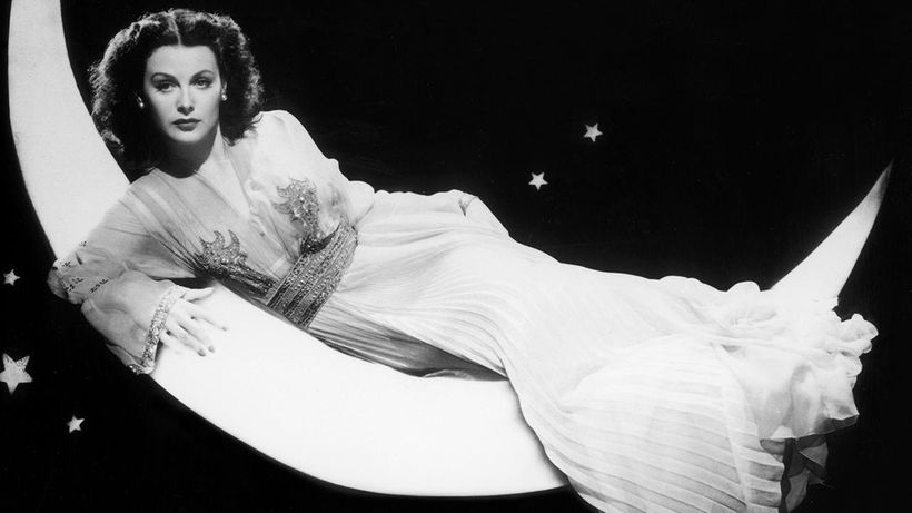 Hedy Lamarr in a scene from 1944's <strong><em>The Heavenly Body</em></strong>