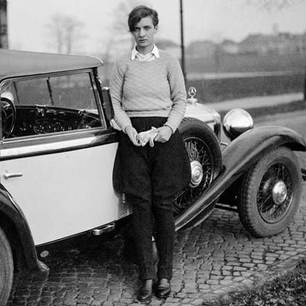 Androgynous fashion icon, Annemarie Schwarzenbach, in the 1930's