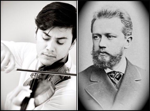 Benjamin Beilman and Pyotr Tchaikovsky