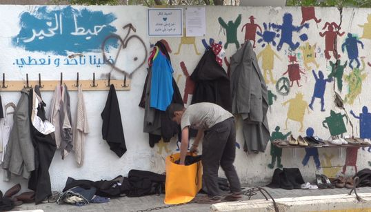 This 'Wall Of Kindness' In Beirut Is Helping Those In