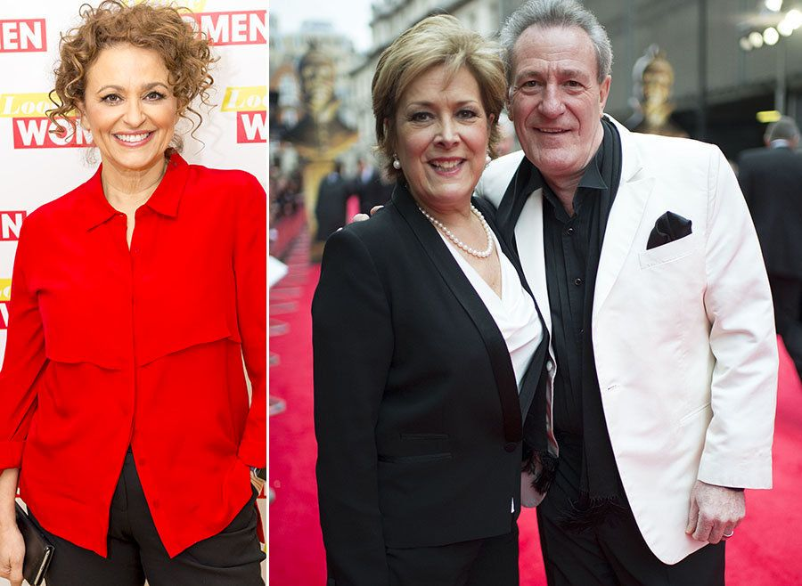 Nadia Sawalha Calls Out Lynda Bellingham's Widower Michael Pattemore Over 'Disgusting'