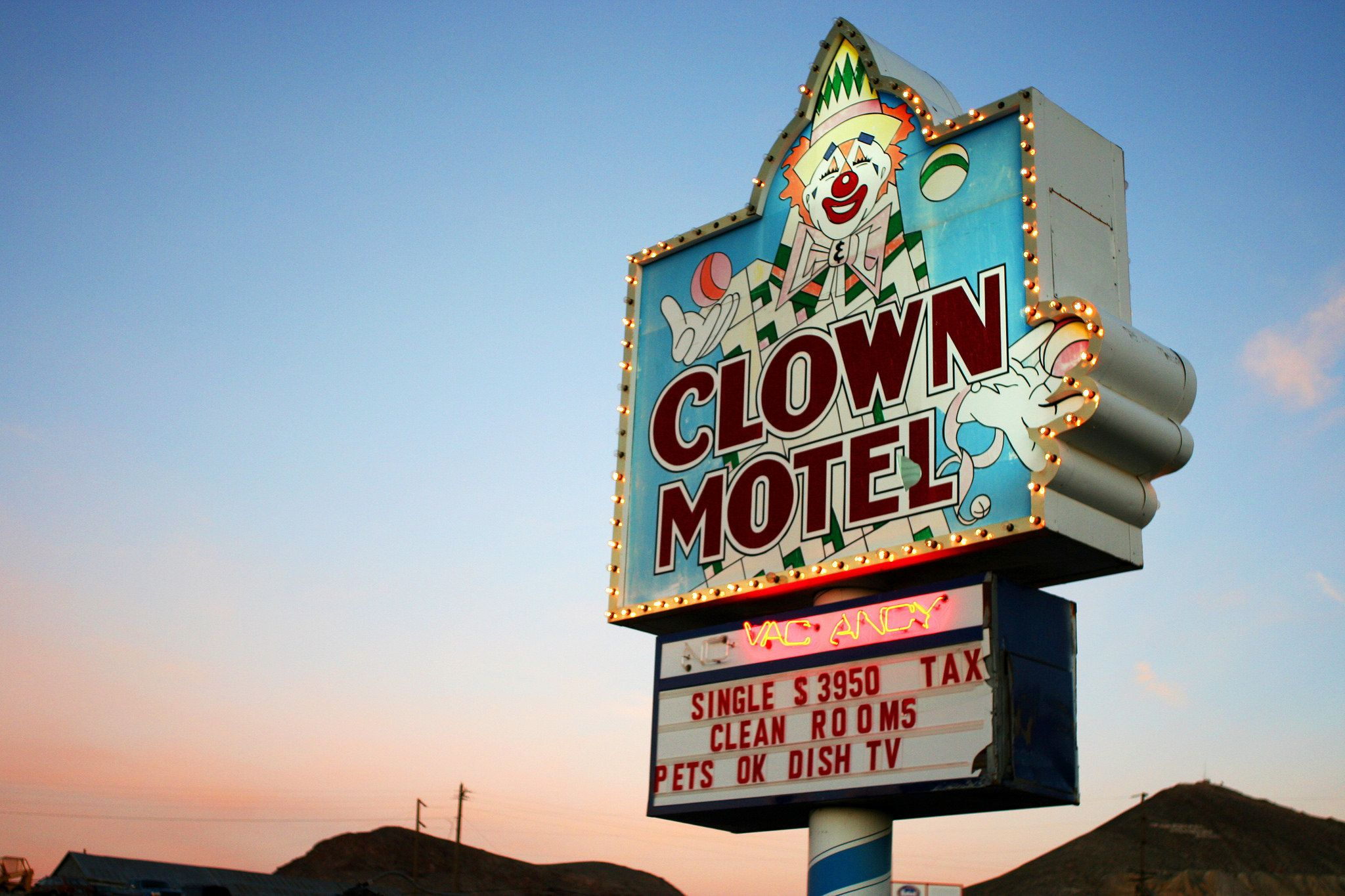 This Creepy Clown Motel Can Now Be Yours