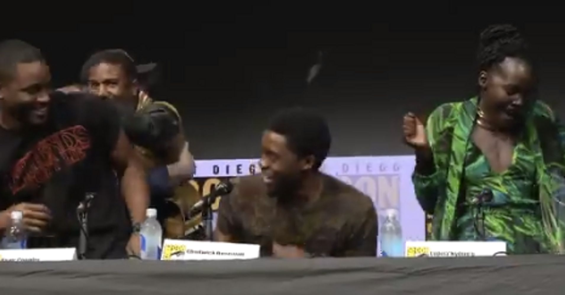'Black Panther' Cast, Comic-Con Fans Can't Contain Their Joy After Seeing Film's Footage