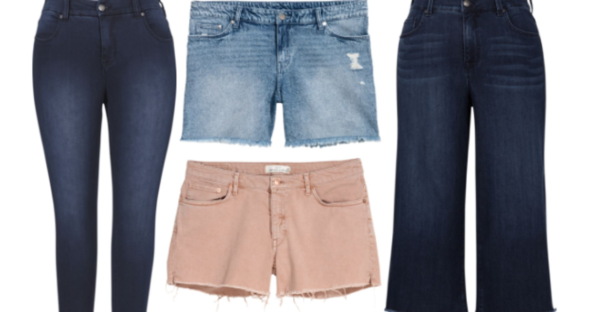 39ce36dc6f224 17 Sites For Plus-Size Jeans And Shorts That Are Stylish And Affordable |  HuffPost Life