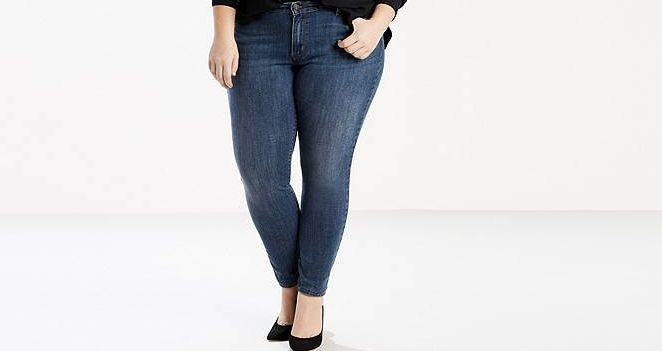 """Levi's is one of several retailers creating quality denim jeans and shorts for plus-size shoppers. <a href=""""http://www.levi.c"""