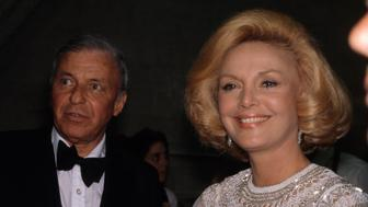 American singer and actor Frank Sinatra and his wife Barbara. (Photo by Ira Wyman/Sygma via Getty Images)