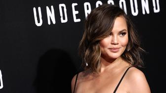 LOS ANGELES, CA - FEBRUARY 28:  Chrissy Teigen attends the premiere of WGN America's 'Underground' Season 2 held at the Westwood Village on February 28, 2017 in Los Angeles, California.  (Photo by Tommaso Boddi/WireImage)