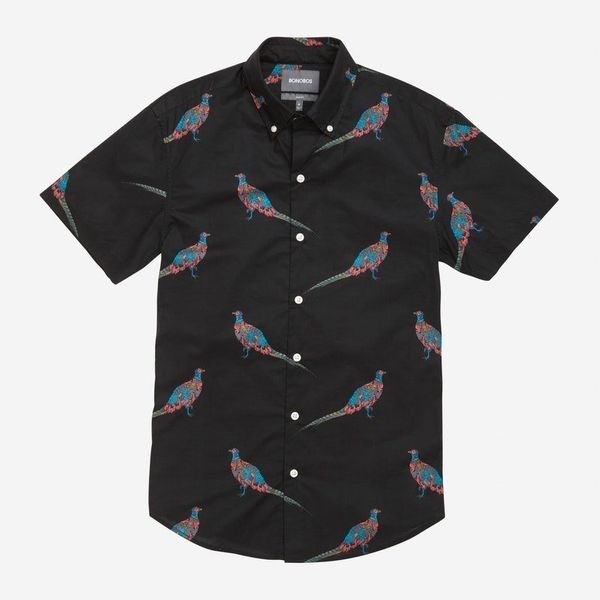 "There's only one season in which you can wear a shirt with birds on it. Live it up. <a href=""https://bonobos.com/products/riv"