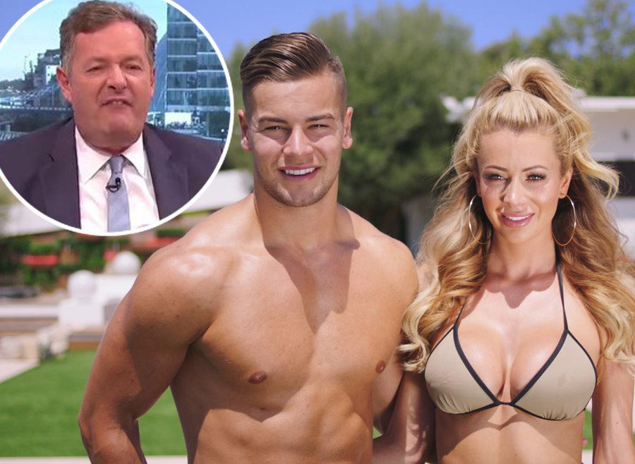Love Island's Chris And Olivia Have A Strong Message For Piers Morgan Over His Criticism Of The Show