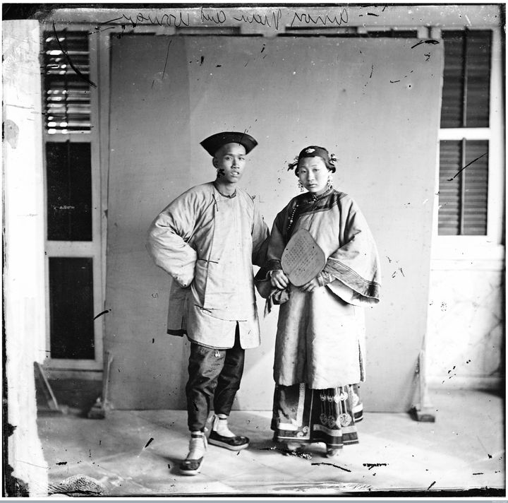 <i>Xiamen in Fujian province in China.&nbsp;Photograph by John Thomson, 1870.<br /></i>