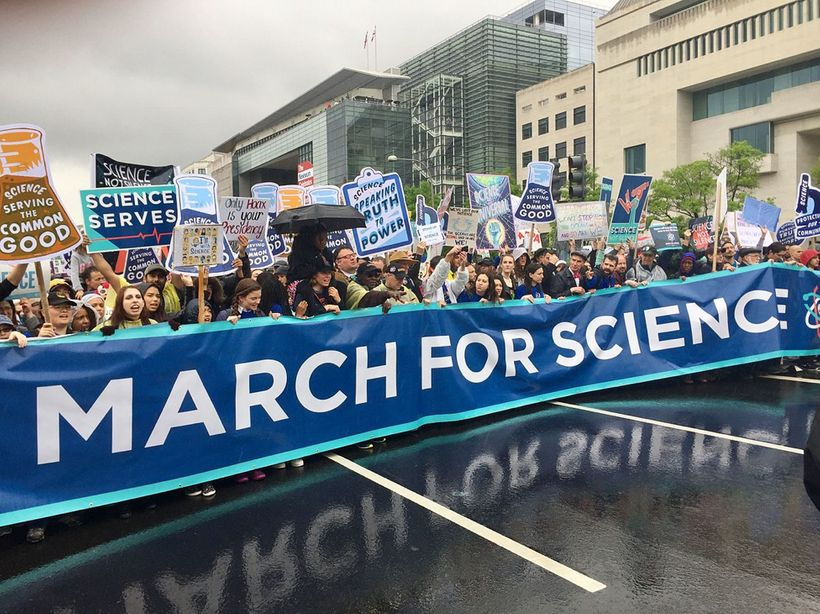 (March for Science, Washington, DC, April 22, 2017)